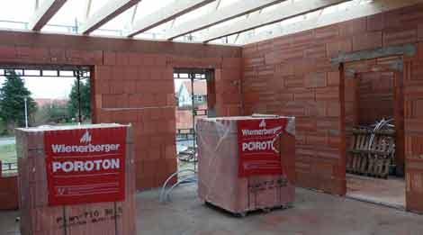 Byggeplads 29 december 2007 køkken alrum hvor der bliver åbent